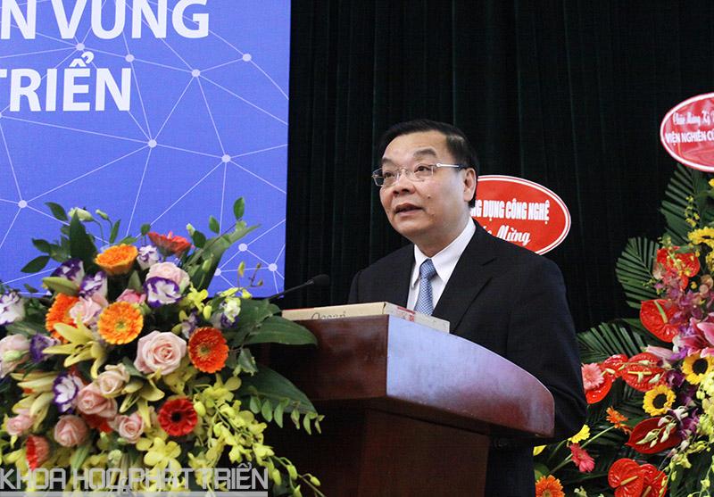 Bộ trưởng Chu Ngọc Anh phát biểu tại lễ tổng kết.