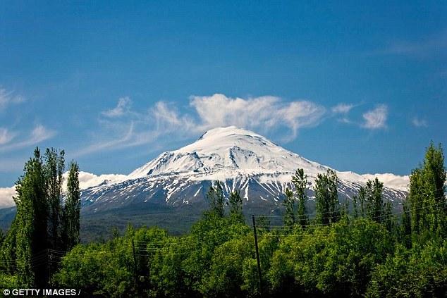 Dãy núi Arart tại Thổ Nhĩ Kỳ. Ảnh: Getty Image.