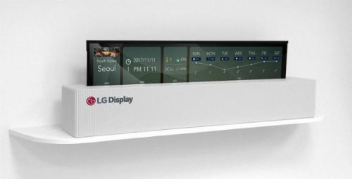 LG công bố TV có thể cuộn như giấy