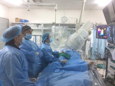 Một ca điều trị nhịp tim tại Bệnh viện Chợ Rẫy