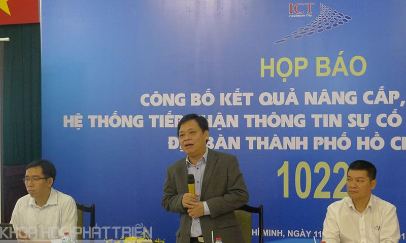 Ông Lê Quốc Cường - Phó Giám đốc Sở Thông tin và truyền thông TPHCM