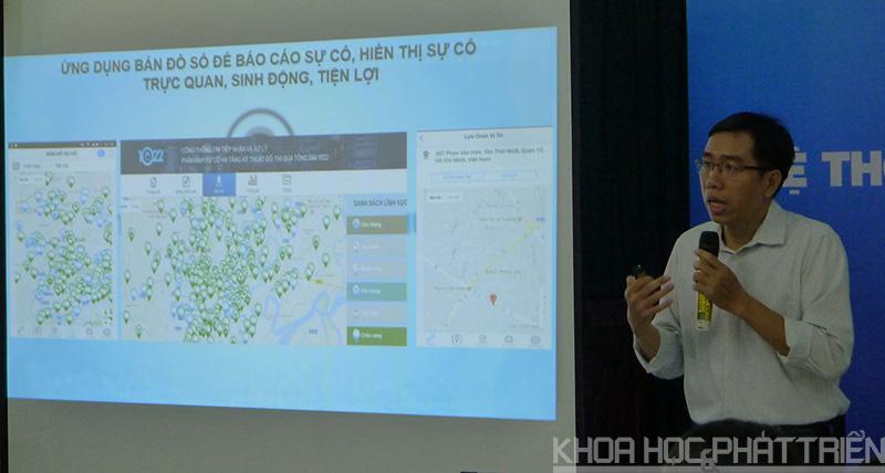 Ông Bùi Việt Dương giới thiệu về Hệ thống 1022