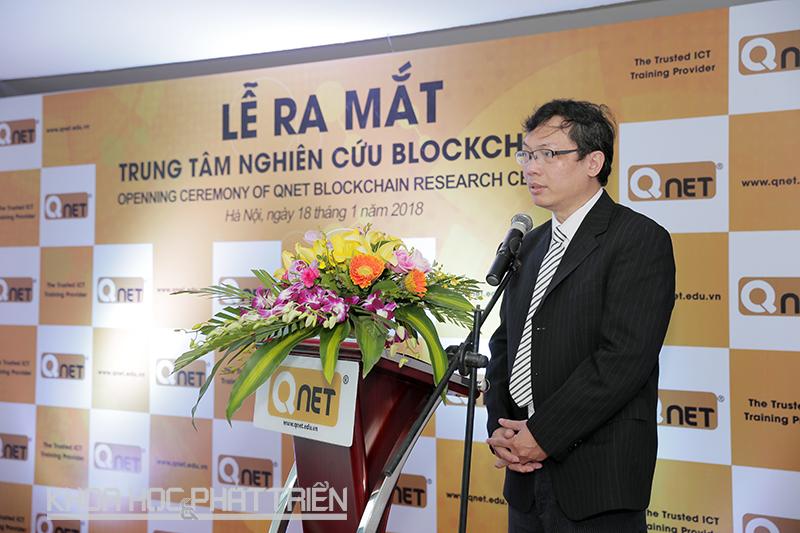 TS Đặng Minh Tuấn phát biểu.