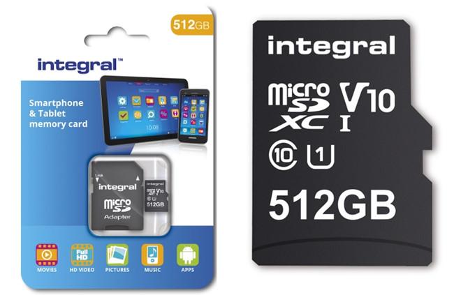 Thẻ nhớ dung lượng lớn nhất cho smartphone hiện nay.