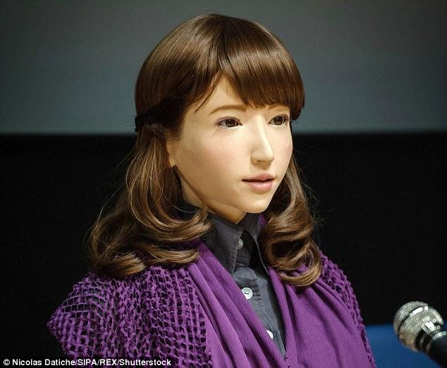 Erica được trang bị trí tuệ nhân tạo tiên tiến.