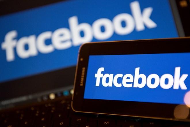 Biểu tượng Facebook. (Ảnh: AFP/TTXVN)