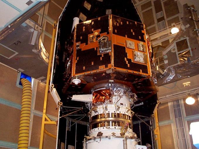 Vệ tinh IMAGE của NASA trong một bức ảnh chụp năm 2000. (Ảnh: NASA).