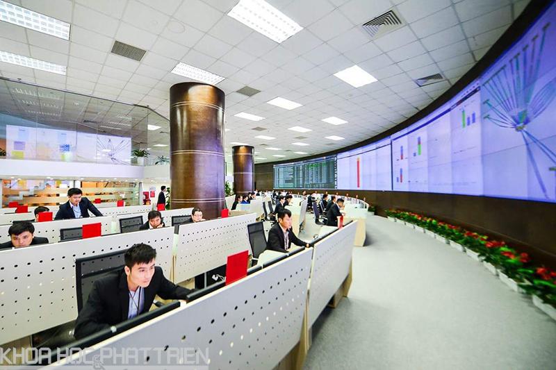 Trung tâm kỹ thuật toàn cầu cho phép Viettel kiểm soát quản lý mạng lưới toàn cầu.