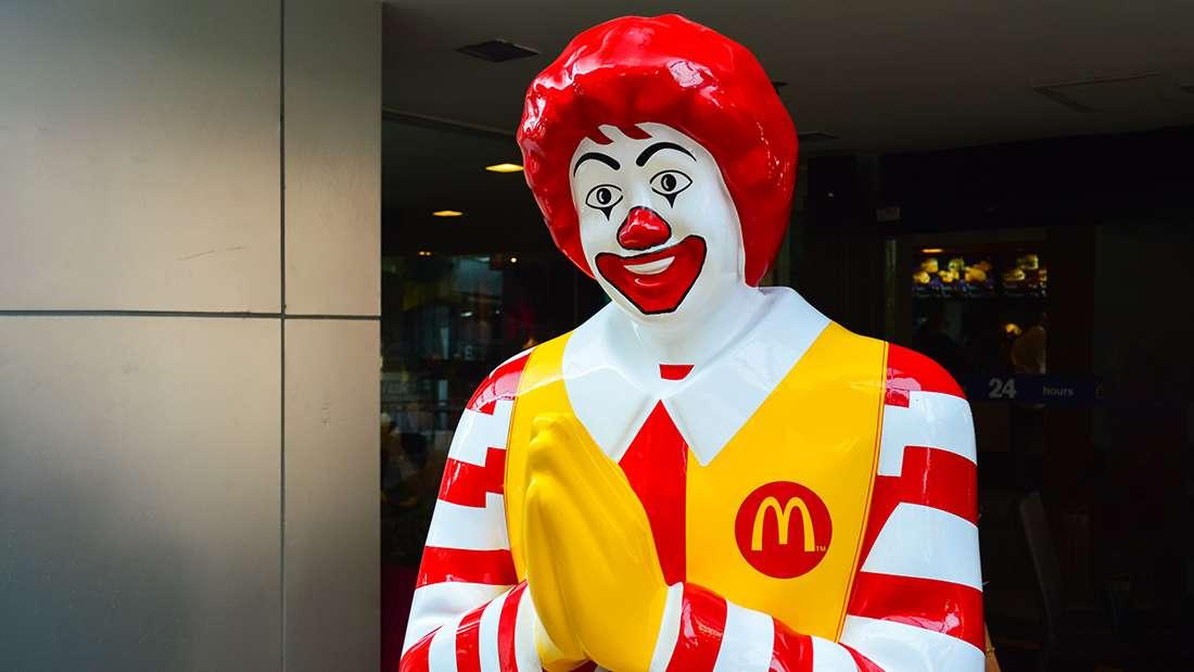McDonald. Ảnh: Mikhail Gnatkovskiy/Shutterstock