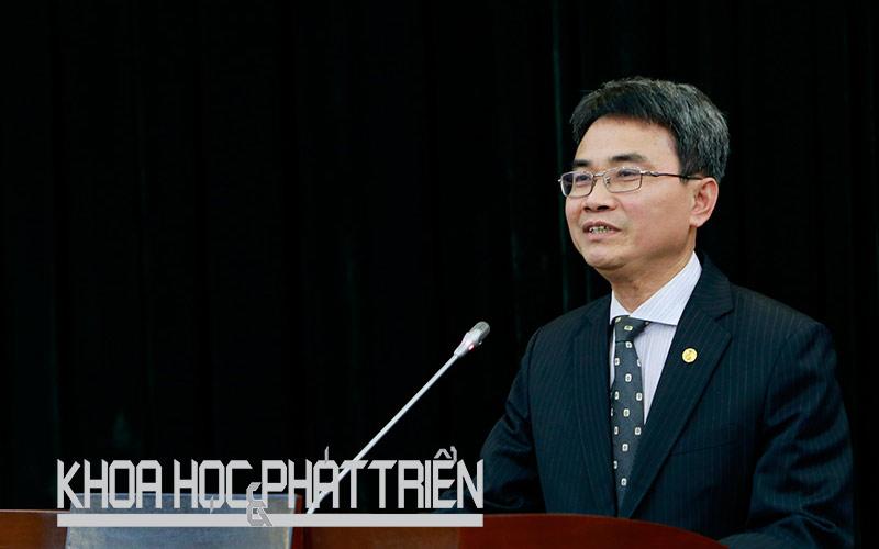Ông Đinh Hữu Phí – Cục trưởng Cục Sở hữu trí tuệ. Ảnh: Lê Loan