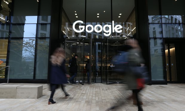 Trụ sở của Google. Ảnh: Jonathan Brady/PA