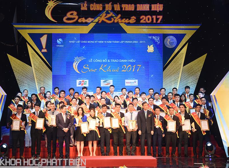 Lễ công bố và trao danh hiệu Sao Khuê 2017