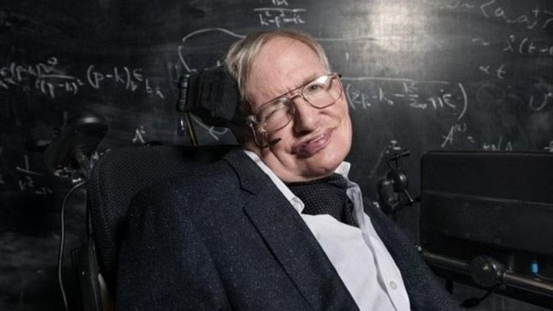 Nhà vật lý người Anh Stephen Hawking