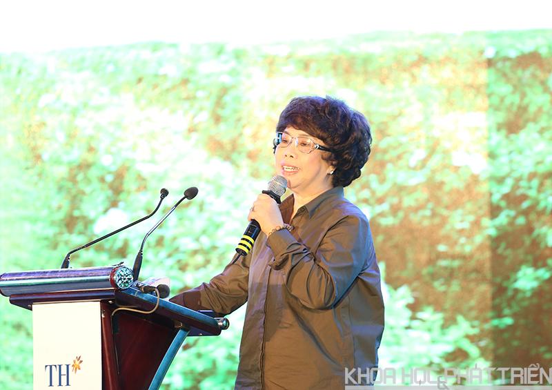 Bá Thái Hương nói về khát vọng mong muốn mang đến những sản phẩm sữa dinh dưỡng.