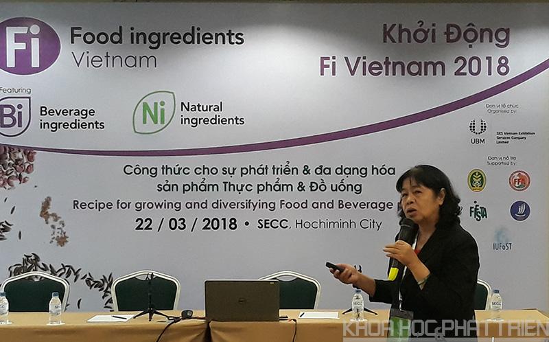 TS. Phạm Kim Phương chia sẻ về một số hóa chất không an toàn trong thực phẩm