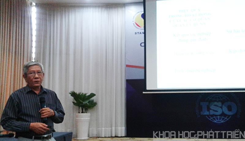 Ông Nguyễn Chí Danh giới thiệu về Công văn 419/BKHCN-TĐC
