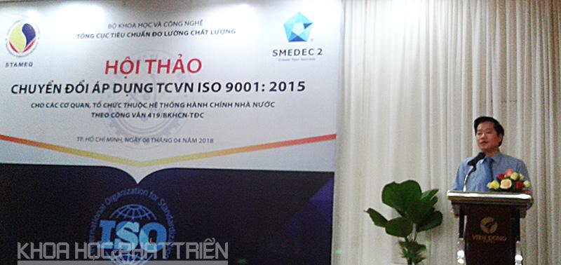 Ông Nguyễn Hoàng Linh - Phó Tổng Cục trưởng Tổng Cục TCĐLCL