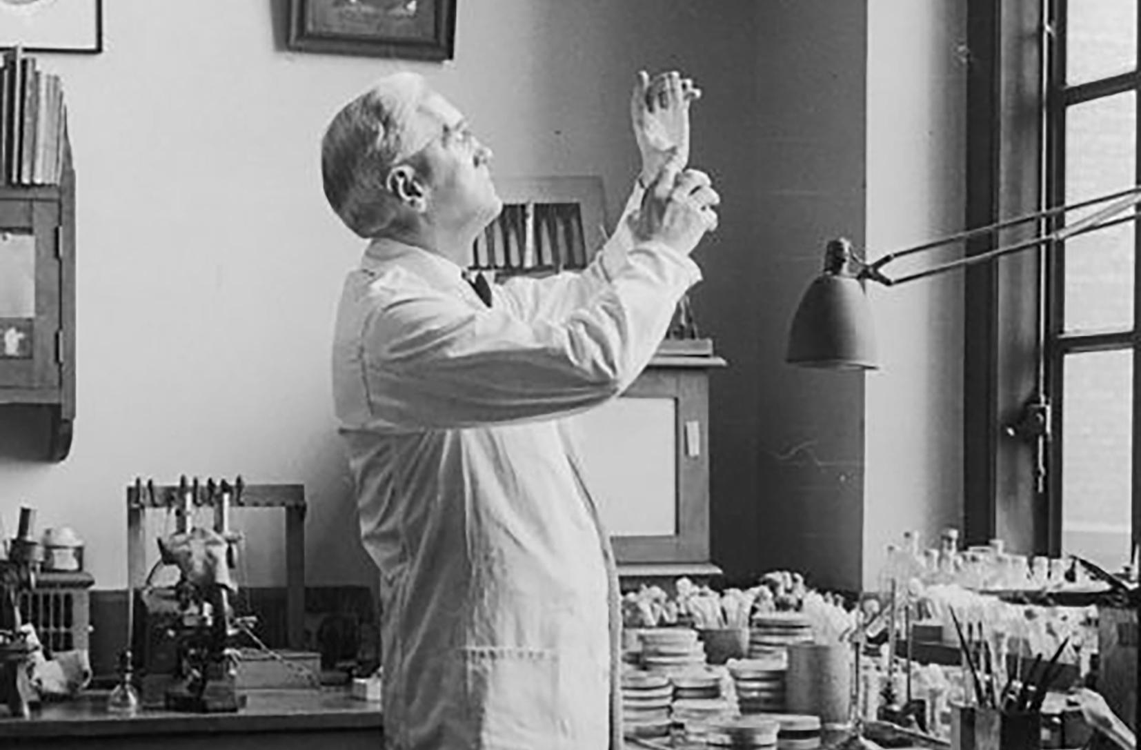 Alexander Fleming khám phá ra Penicillium là một trong những ví dụ minh họa về phát minh ngẫu nhiên nổi tiếng nhất. Nguồn: nature.com