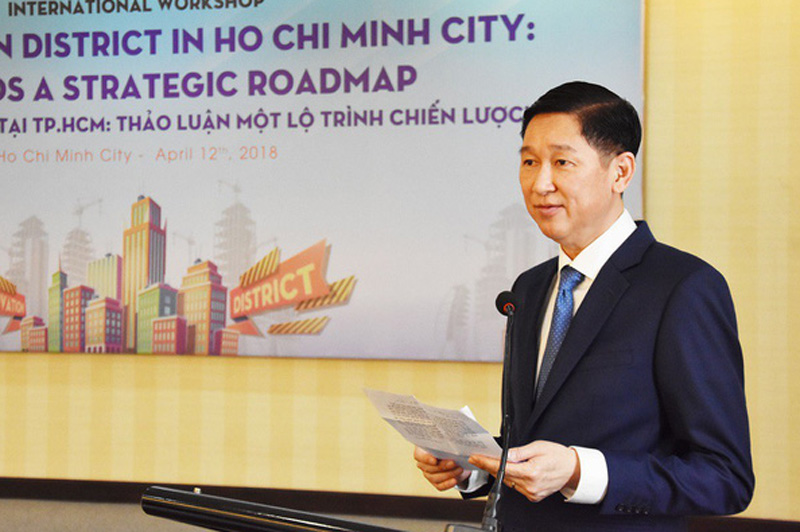 Ông Trần Vĩnh Tuyến - Phó Chủ tịch UBND TPHCM