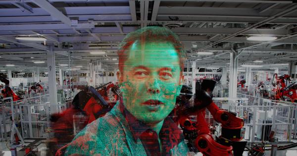 Elon Musk thừa nhận đang dựa dẫm quá nhiều vào robot trong dây chuyền sản xuất của Tesla. Ảnh: Futurism