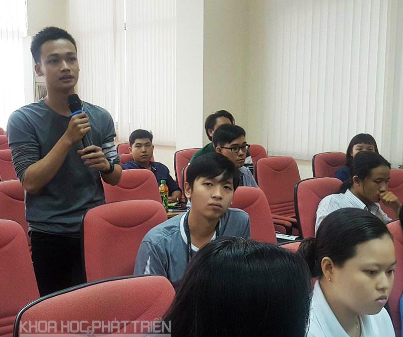 Nhiều bạn trẻ quan tâm đến khởi nghiệp bằng công nghệ