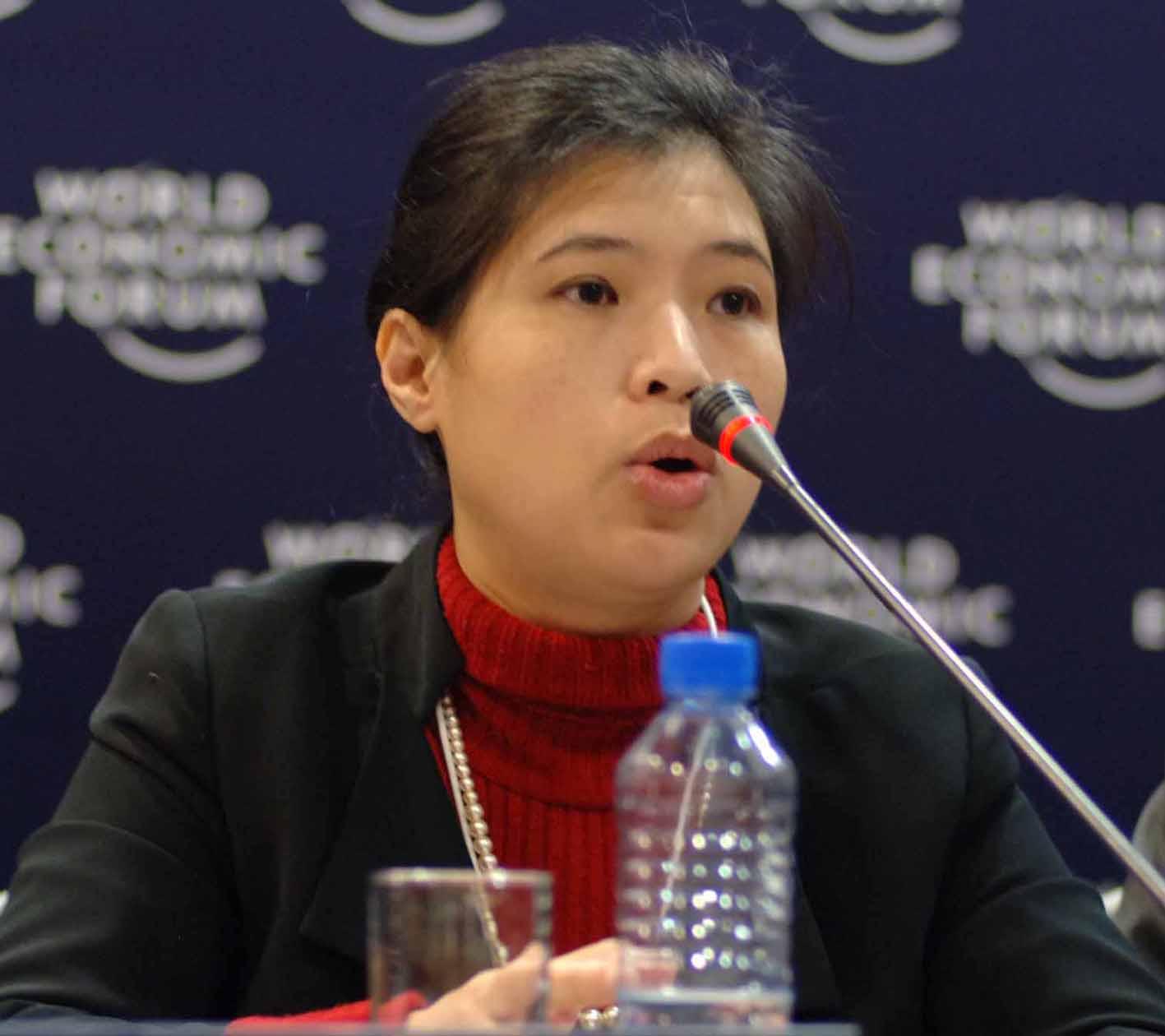 Chị Nguyễn Thị Kim Thanh, sáng lập viên của Viện Hàn lâm Trẻ Việt Nam. Ảnh: http://www.ntk-thanh.co.uk