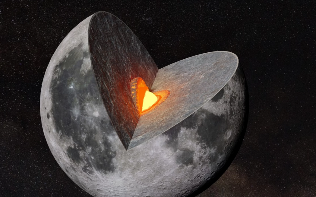 Các nhà khoa học tin rằng từng tồn tại một đại dương macma nóng chảy bên trong Mặt Trăng. Ảnh: iStock/Getty Images