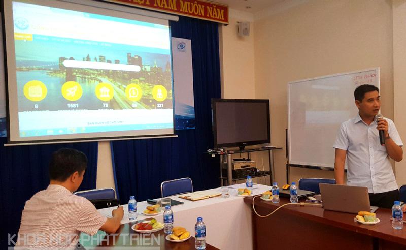 Cổng có tên miền startup.gov.vn