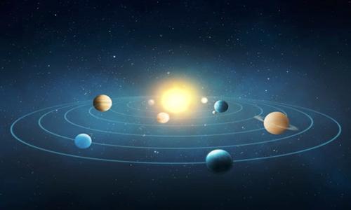 Sao Mộc và sao Kim làm biến dạng quỹ đạo của Trái Đất. Ảnh: Irishnews.