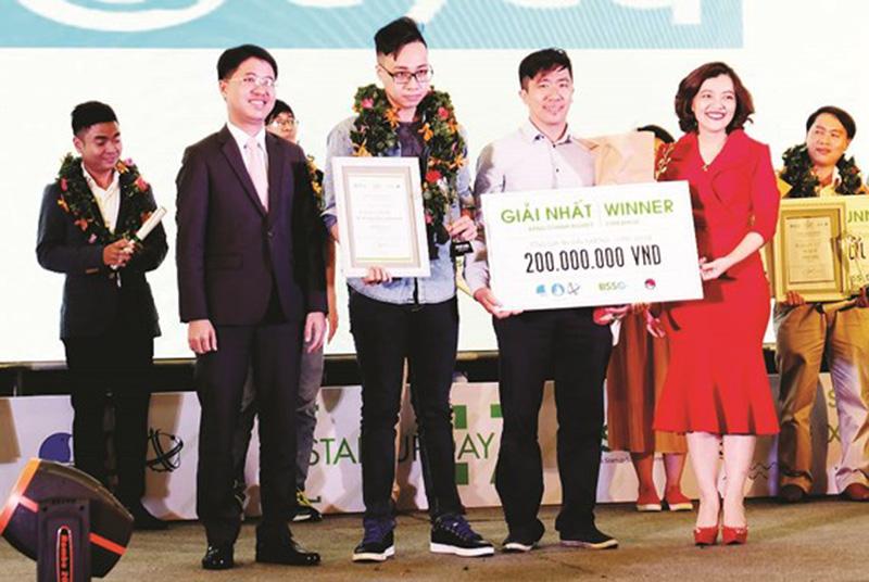 Giải nhất Cuộc thi 2017 thuộc về một dự án công nghệ