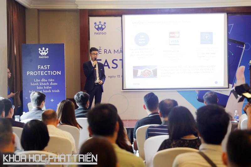 Ông Nguyễn Hữu Tuất - Tổng giám đốc FastGo Việt Nam chia sẻ về ứng dụng FastGo.