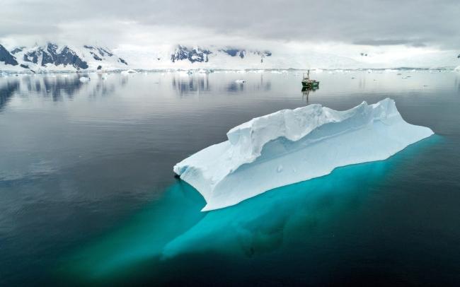 Băng tại Nam Cực đang tan nhanh - Ảnh: Internet