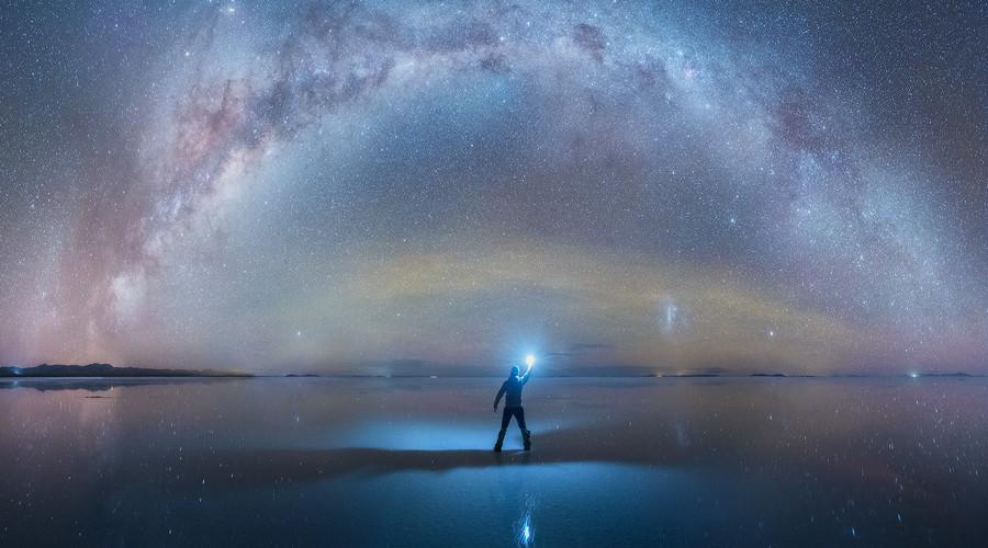 Nguồn gốc của con người là đến từ đâu trong vũ trụ bao la này? (ảnh: danielkordan.com)