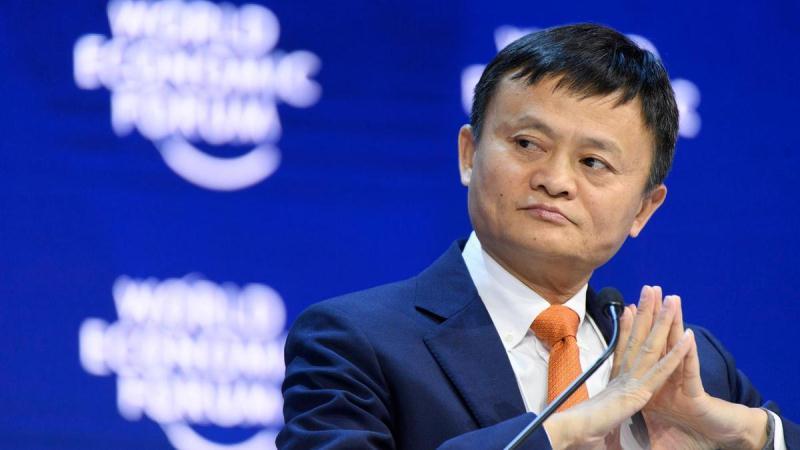 Jack Ma - ông chủ của Alibaba. Nguồn: EPA/LAURENT GILLIERON