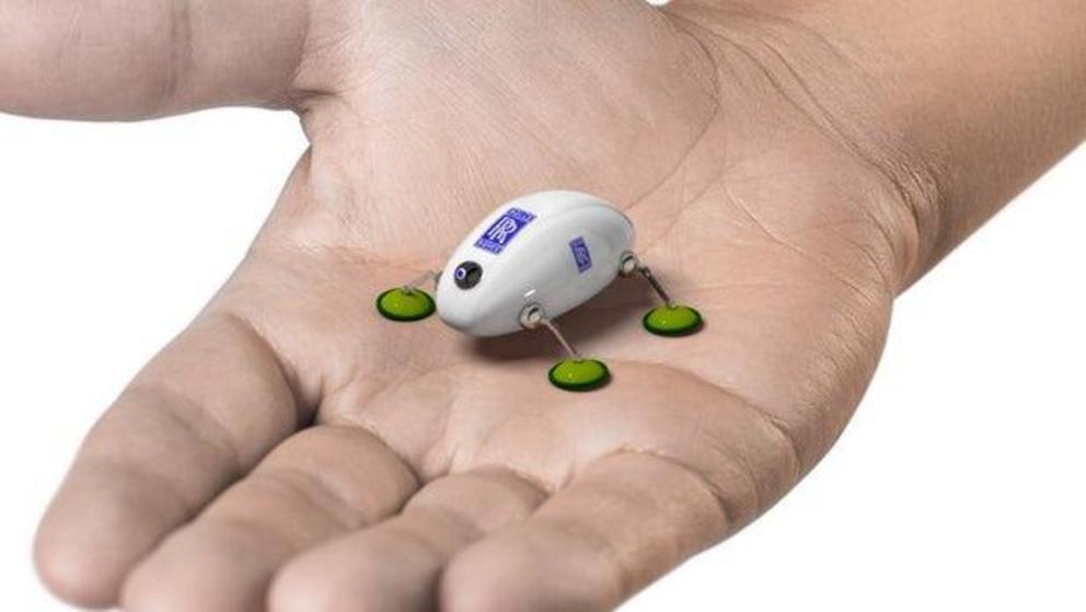 Robot nhỏ gọn mô phỏng hình dạng loài gián có thể trở thành trợ thủ đắc lực, thậm chí thay thế các kỹ sư khi sửa chữa động cơ máy bay. Ảnh: Futurism
