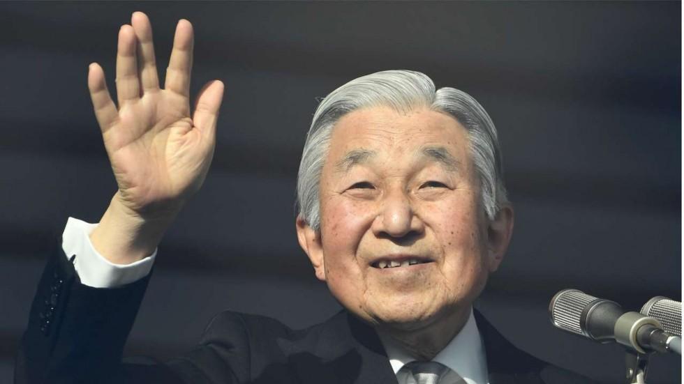 Nhật Hoàng chủ động tuyên bố lên kế hoạch thoái vị vào năm 2019. Ảnh: AP News