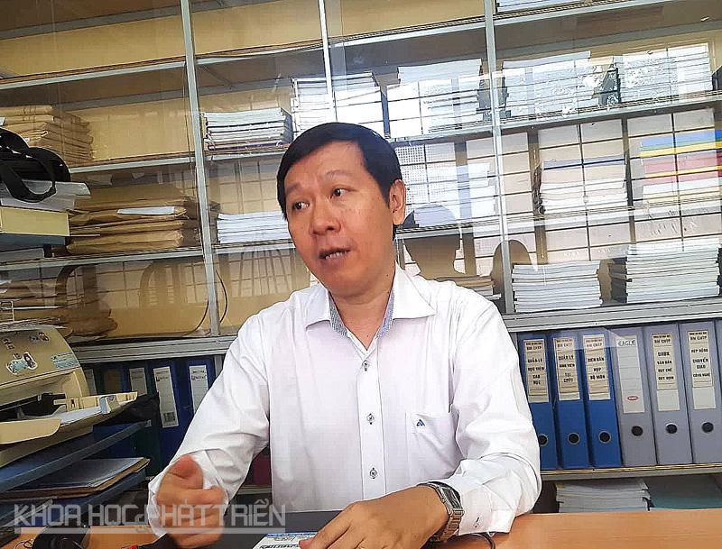 Gs.TS. Lê Văn Việt Mẫn - Chủ nhiệm đề tài nghiên cứu