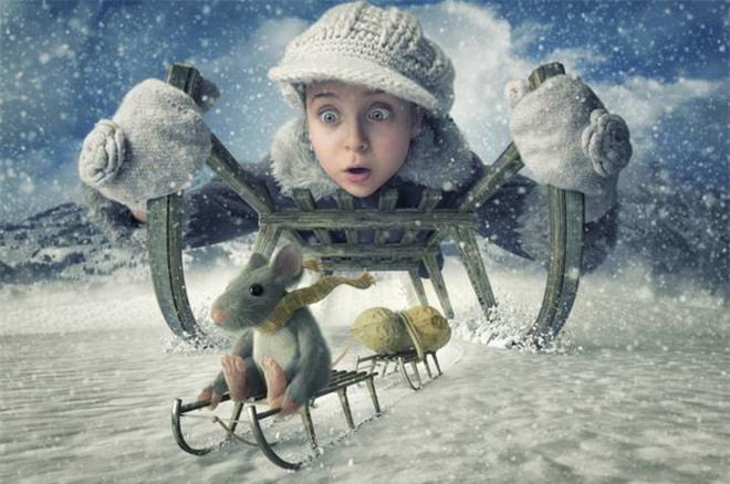 """Ông bố """"bựa nhất năm"""", chụp hình những đứa con và đưa chúng vào thế giới viễn tưởng bằng Photoshop - Ảnh 13."""