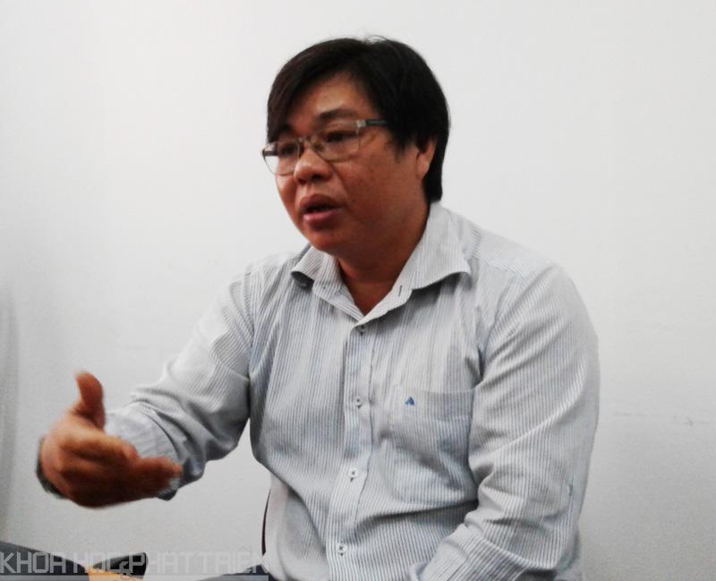 TS. Nguyễn Nhứt - Chủ nhiệm đề tài