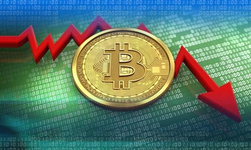 Đợt bán tháo tiền ảo từ đầu tháng tới nay chưa có dấu hiệu giảm bớt. Ảnh: Bloomberg.