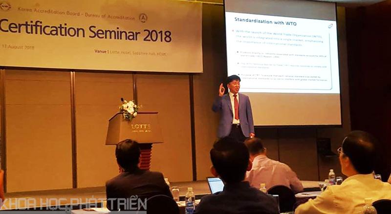 Chuyên gia Hàn Quốc chia sẻ về chứng nhận ISO