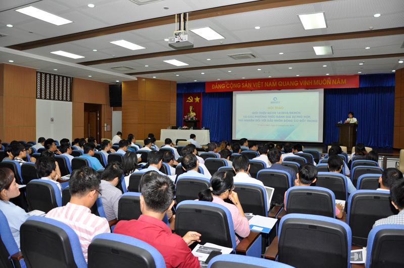 Hội thảo nhận được sự quan tâm của nhiều doanh nghiệp