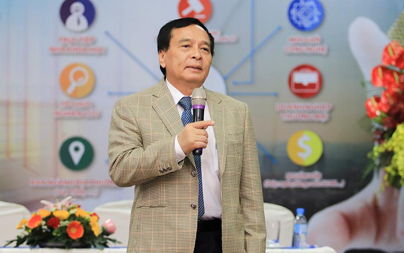 PGS.TS. Nguyễn Mạnh Hùng - Hiệu trưởng Trường Đại học Nguyễn Tất Thành
