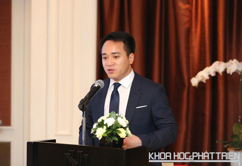 Ông Lê Đắc Lâm phát biểu tại sự kiện.