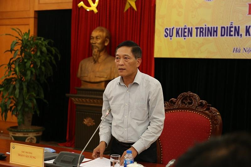 Thứ trưởng Bộ KH&CN Trần Văn Tùng chủ trì buổi họp báo