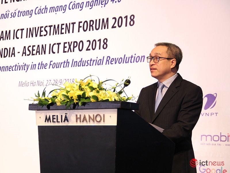 Thứ trưởng Bộ TT&TT phát biểu khai mạc hội nghị