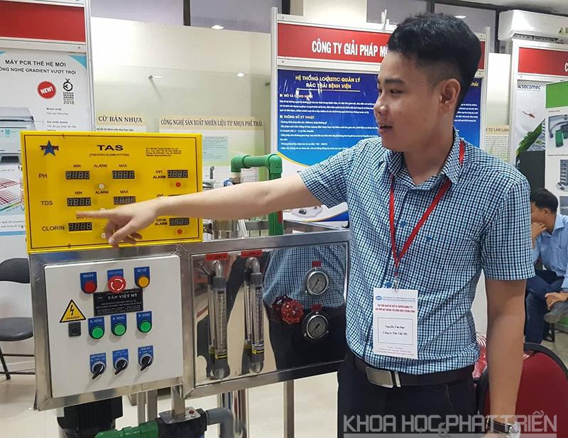 Hệ thống lọc nước chạy thận nhân tạo