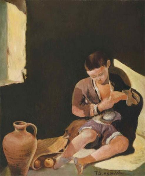 """""""Mơ về một ngày mai"""" của Tô Ngọc Vân đấu giá tại Christie's Hongkong là tranh giả."""