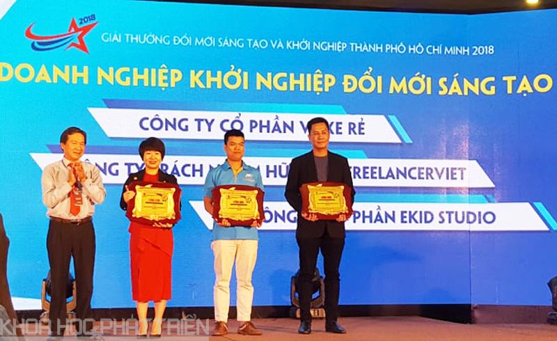 BTC trao giải cho doanh nghiệp