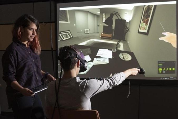 Hình ảnh minh họa trải nghiệm thực tế ảo VR
